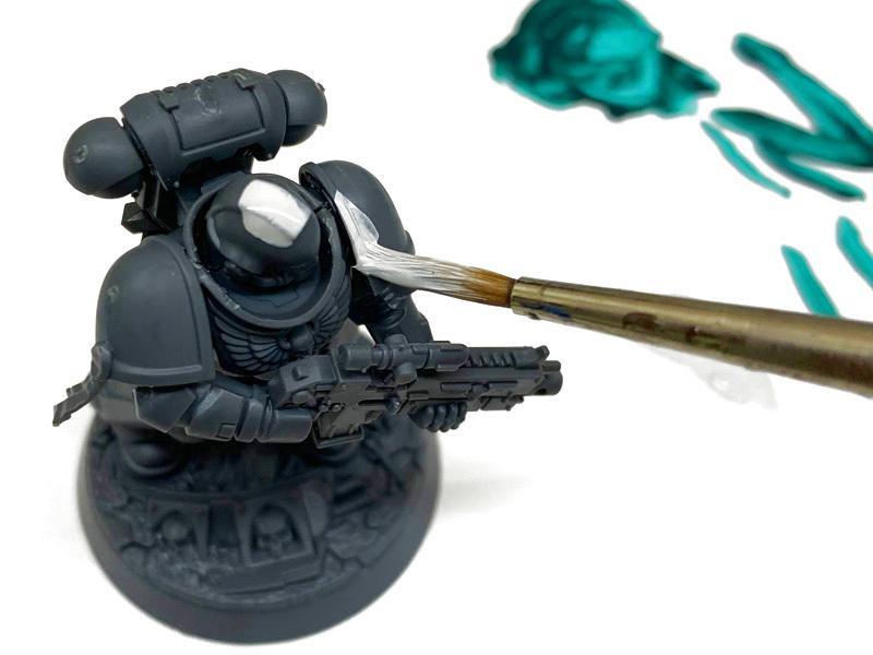 6:ミニチュアに塗料を塗る